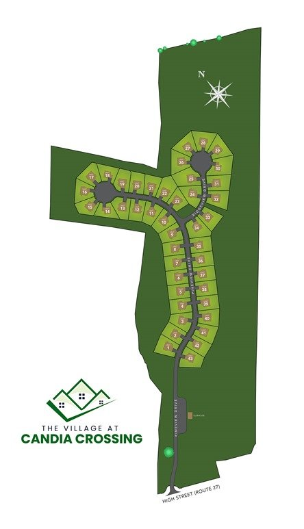 Candia Crossing Site Plan